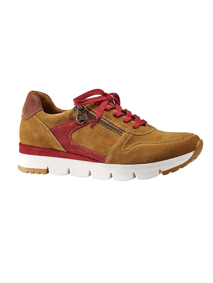 Sneaker mit herausnehmbarem Fußbett