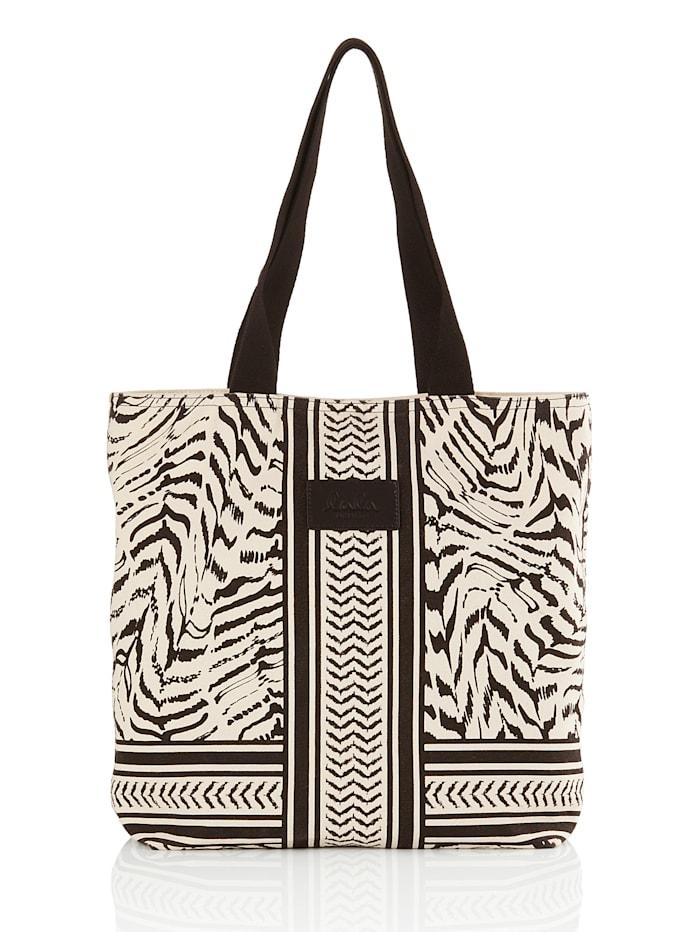 Lala Berlin Shopper, schwarz weiß
