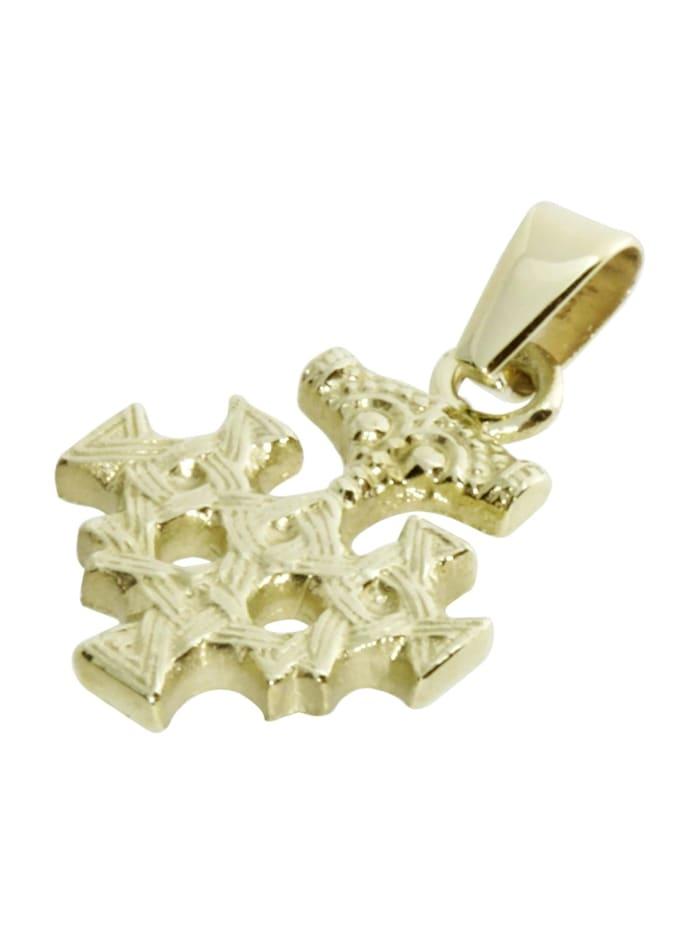 Anhänger - Hiddensee 15 mm - Gold 333/000 - ,