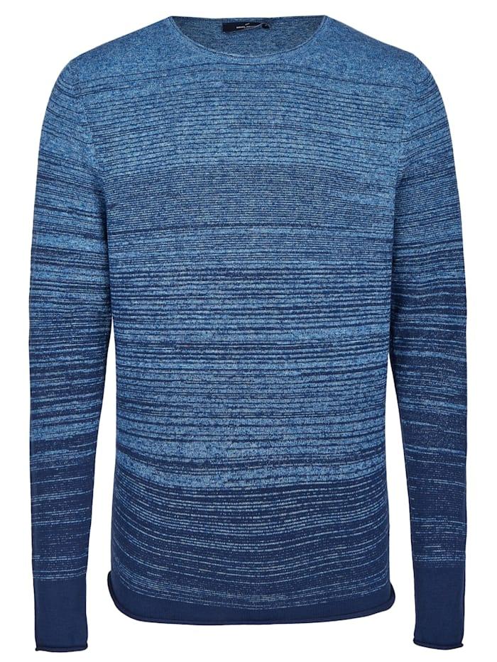 Daniel Hechter Modischer Pullover mit Farbverlauf, midnight blue - 690