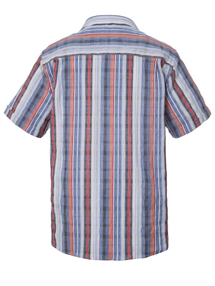 Seersuckerhemd ideal für den Sommer
