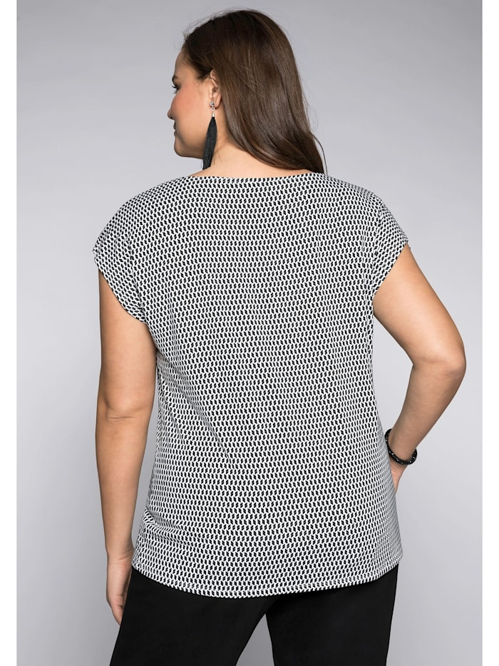 Sheego Shirt in leichter Oversize-Form