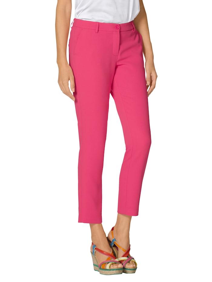 AMY VERMONT Broek in modieuze kleur, Roze