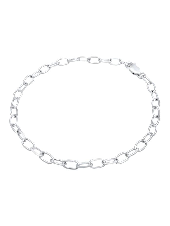 Armband Charmträger Bettelarmband Trend Basic 925 Silber