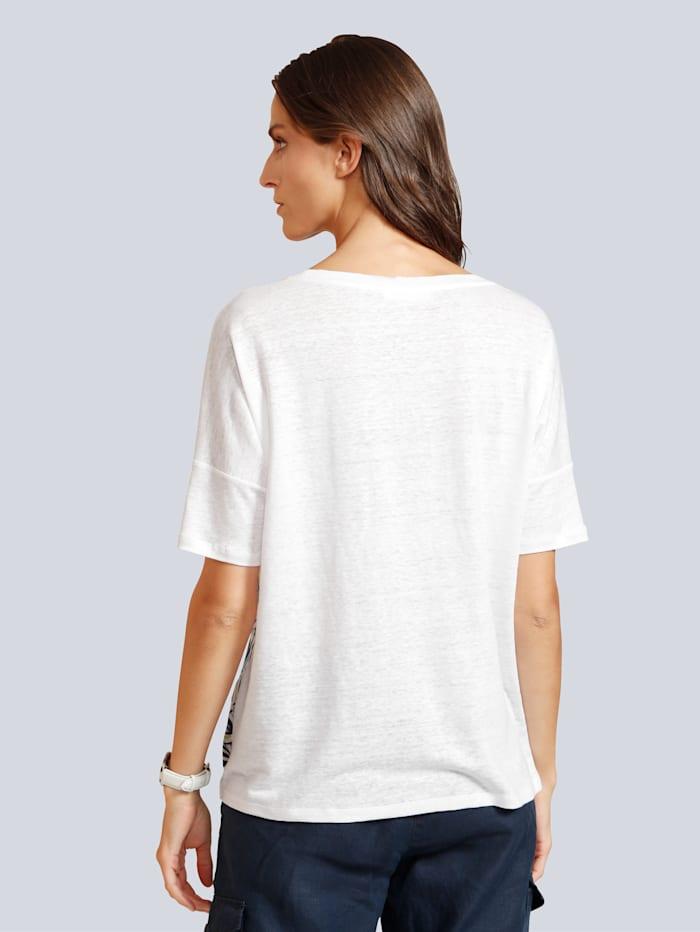 Shirt mit tollem Blätterdruck im Vorderteil