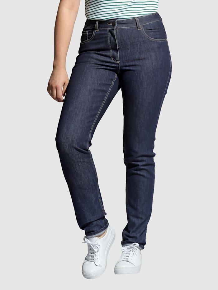 Angel of Style Jeans Carla, Dunkelblau