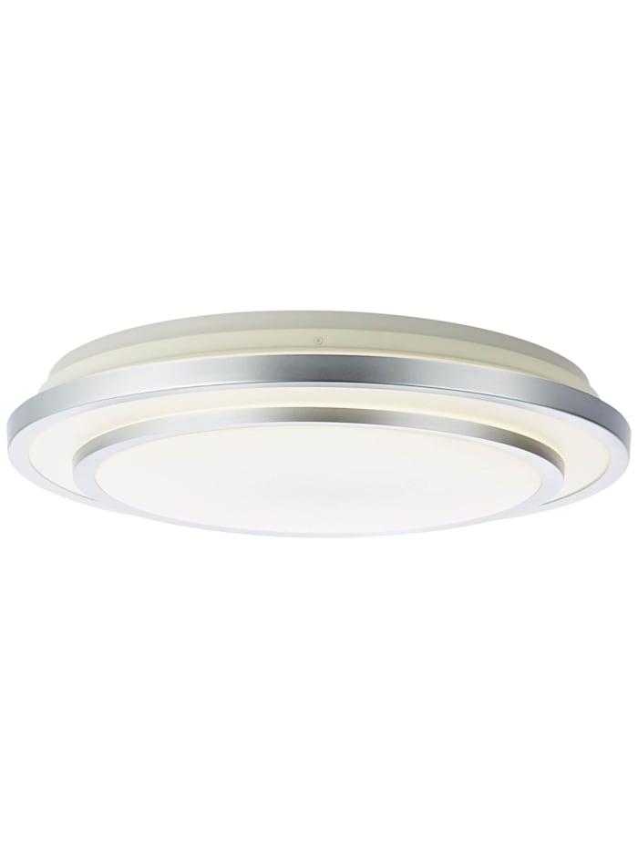 Brilliant Vilma LED Deckenleuchte 52cm weiß-silber, weiß-silber