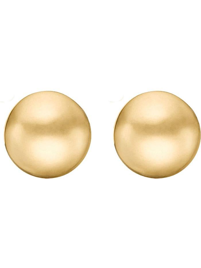 CHRIST C-Collection CHRIST Damen-Ohrstecker 585er Gelbgold Gold, gold