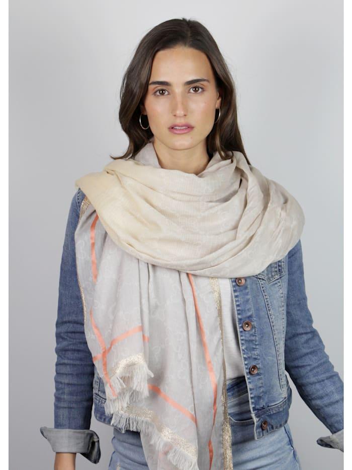 Premium Logo-Schal mit Glamour-Appeal