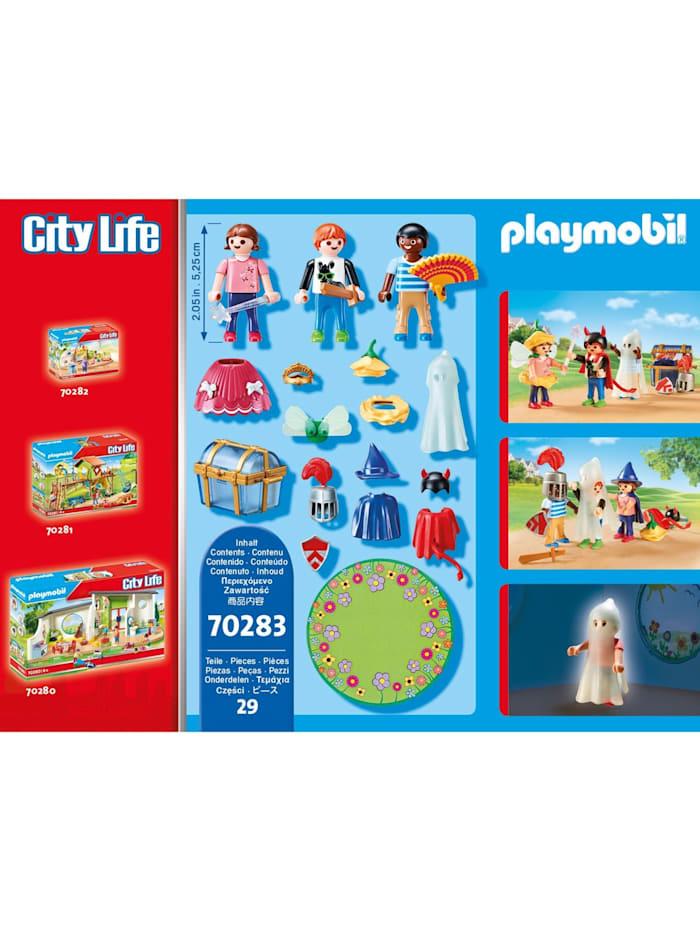 Konstruktionsspielzeug Kinder mit Verkleidungskiste
