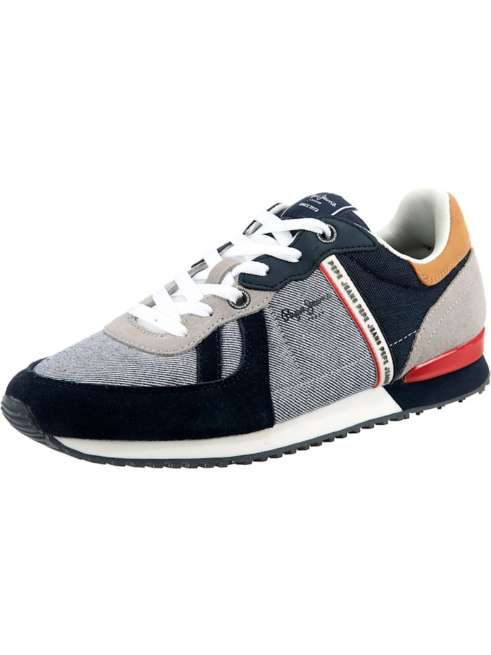 Pepe Jeans Tinker Zero 21 Chambray Sneakers Low, mehrfarbig