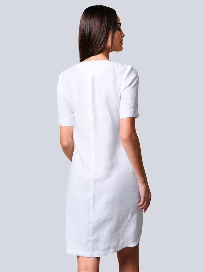 Kleid aus reiner sommerlicher Leinenqualität