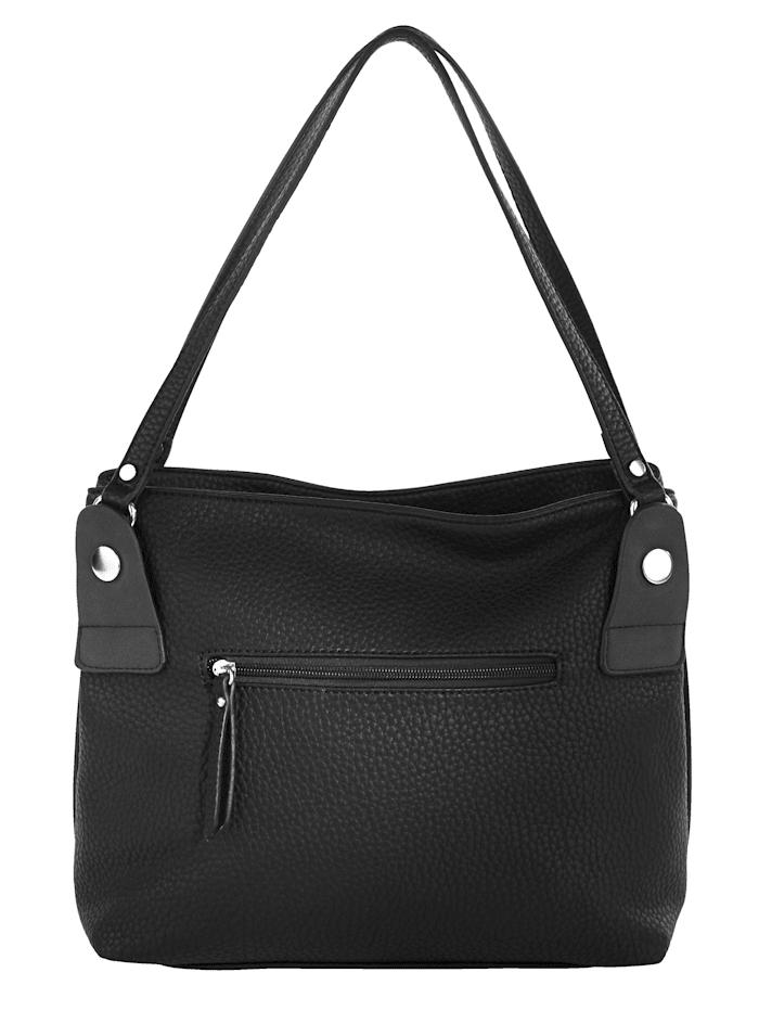 Handbag made from a premium-quality fabric