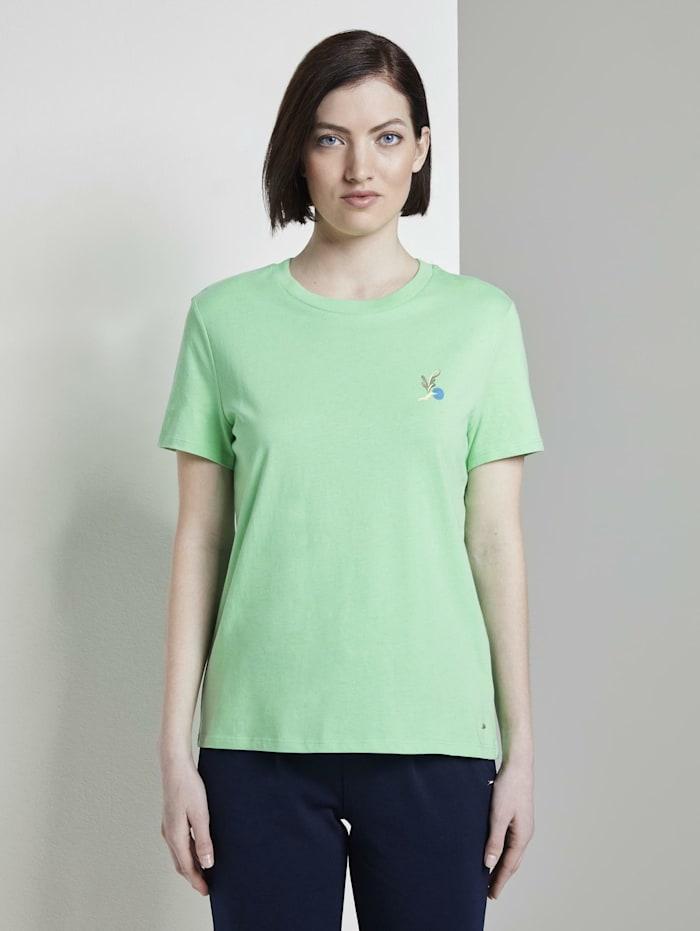 T-Shirt mit Rückenprint im Loose Fit