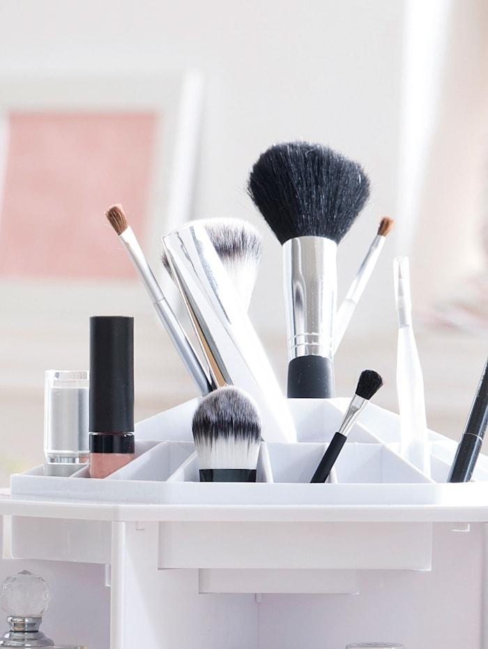 KLiNGEL Beauty Organizer, weiß