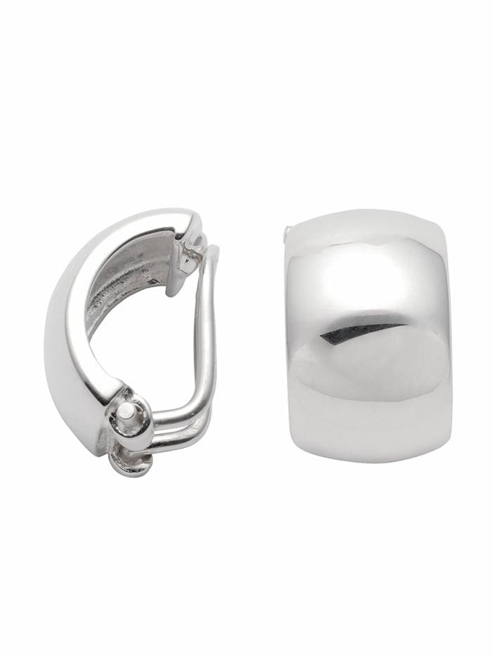 1001 Diamonds 1001 Diamonds Damen Silberschmuck 925 Silber Ohrringe / Ohrclips, silber