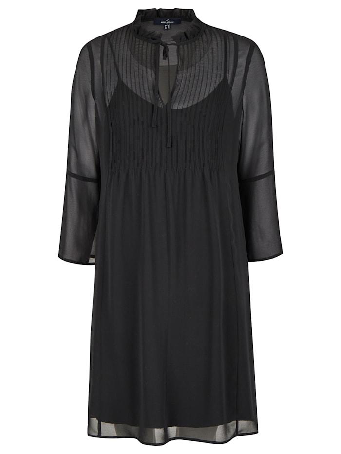 Daniel Hechter Modisches Kleid mit vielen Details, black