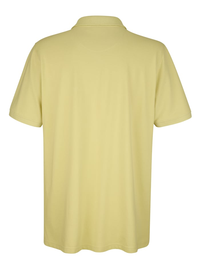 Poloshirt met paisleydessin