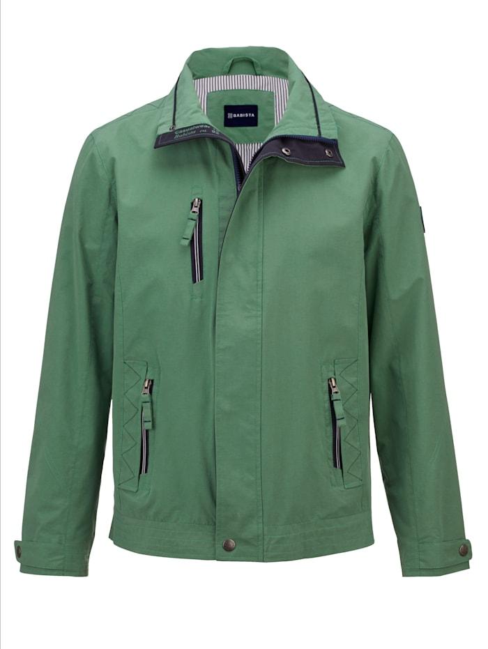 BABISTA Veste à superbes détails mode, Vert