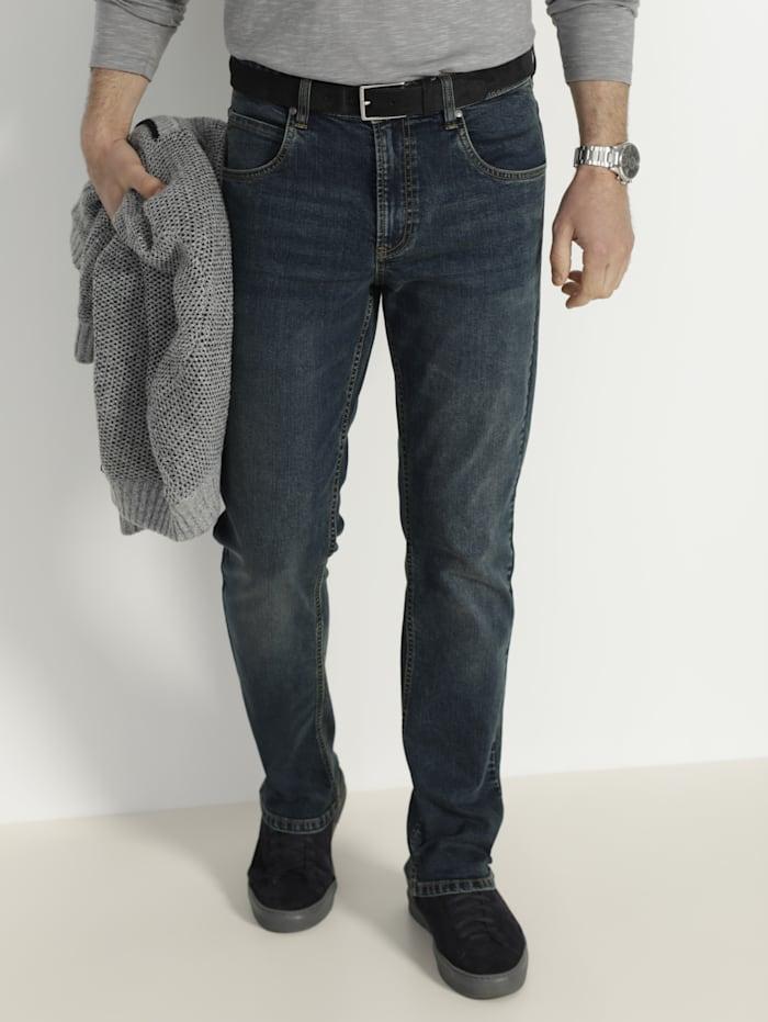 BABISTA Jeans im Used-Look, Dunkelblau
