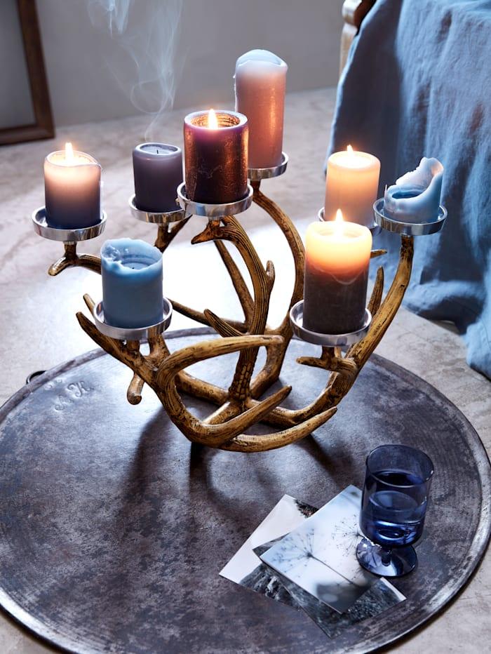Kerzenhalter, Geweih