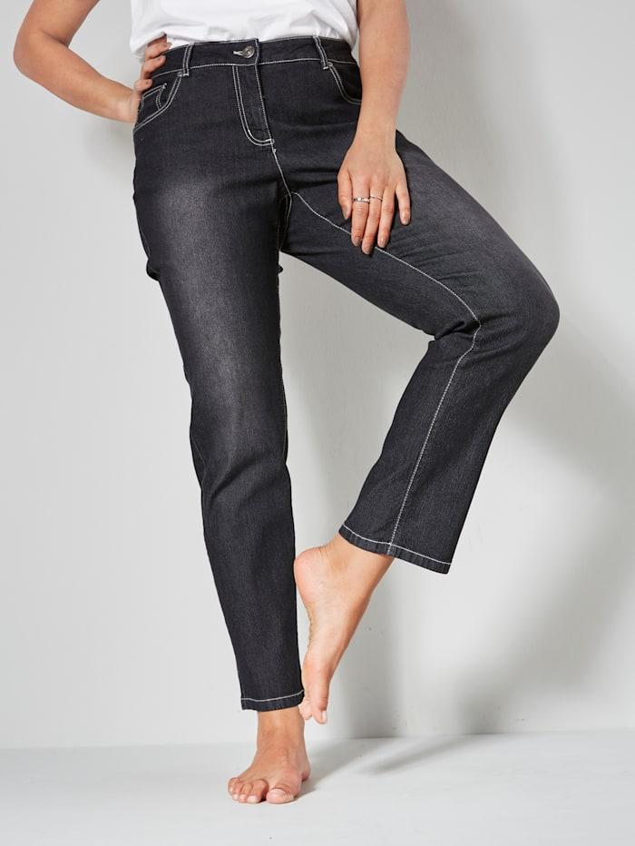 Dollywood Jeans EMMA Slim Fit, Schwarz
