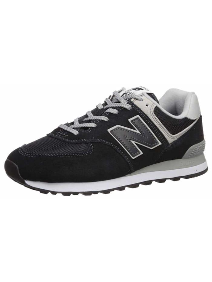 New Balance Schnürschuhe, schwarz