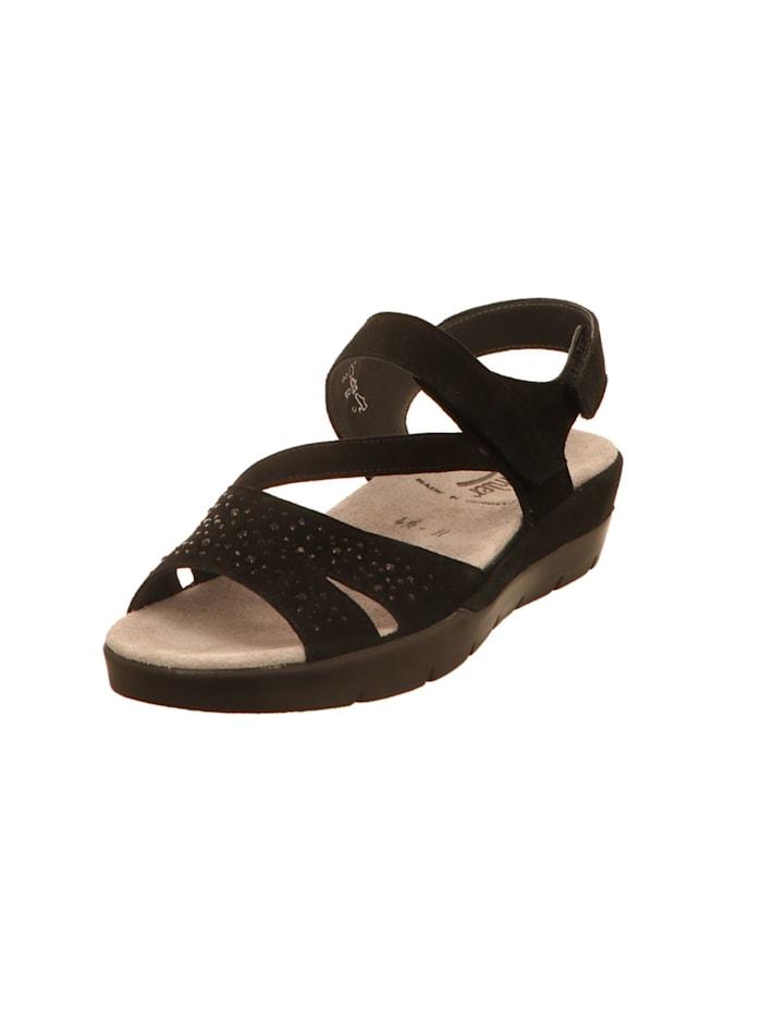 Semler Sandalen/Sandaletten, schwarz