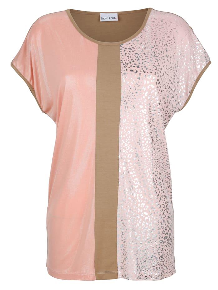 Shirt mit Colorblocking