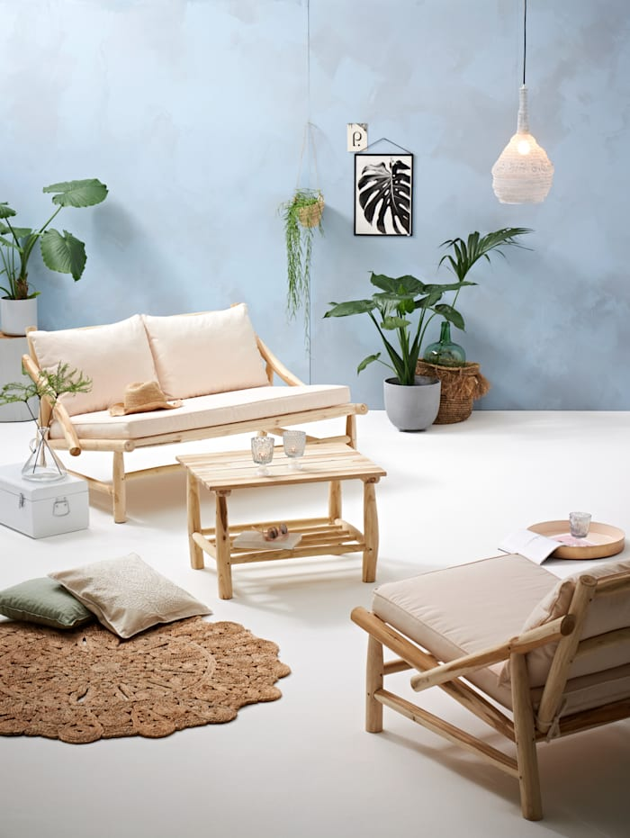 Outdoor-Lounge-Set, 3-tlg.