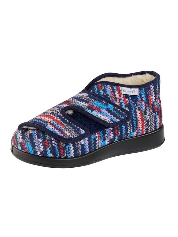 Varomed Chaussures thérapeutiques à effet maille, Bleu