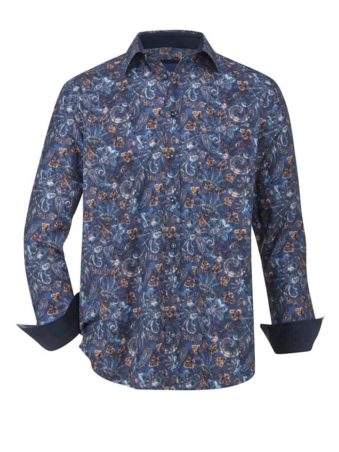 BABISTA Chemise à motif imprimé mode, Bleu