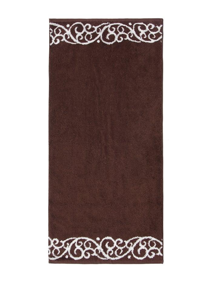 Duschtuch Akanthus Bordüre mit Akanthus-Muster