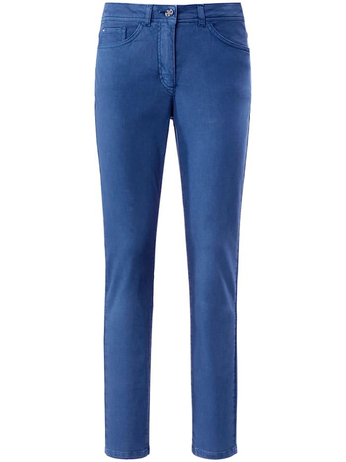 """Basler 5-Pocket-Jeans """"Julienne"""" in Coloured Denim, nautical blue"""