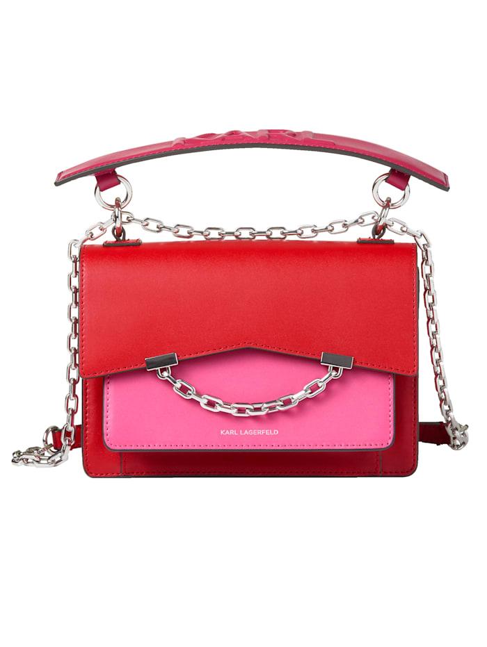 Karl Lagerfeld Crossbody-Bag, rot-pink