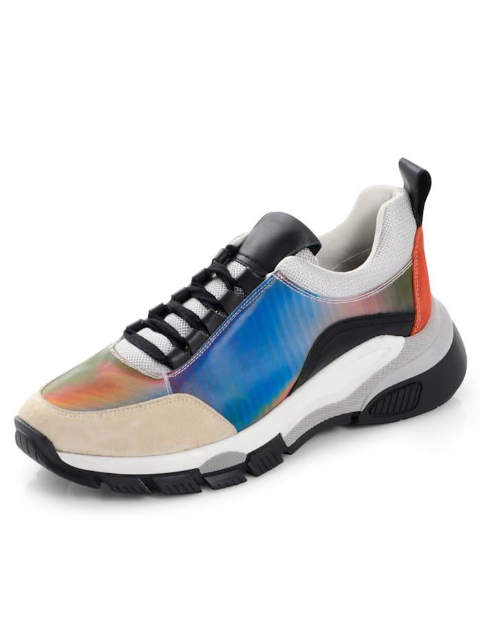 Sneaker in Chunky-Optik