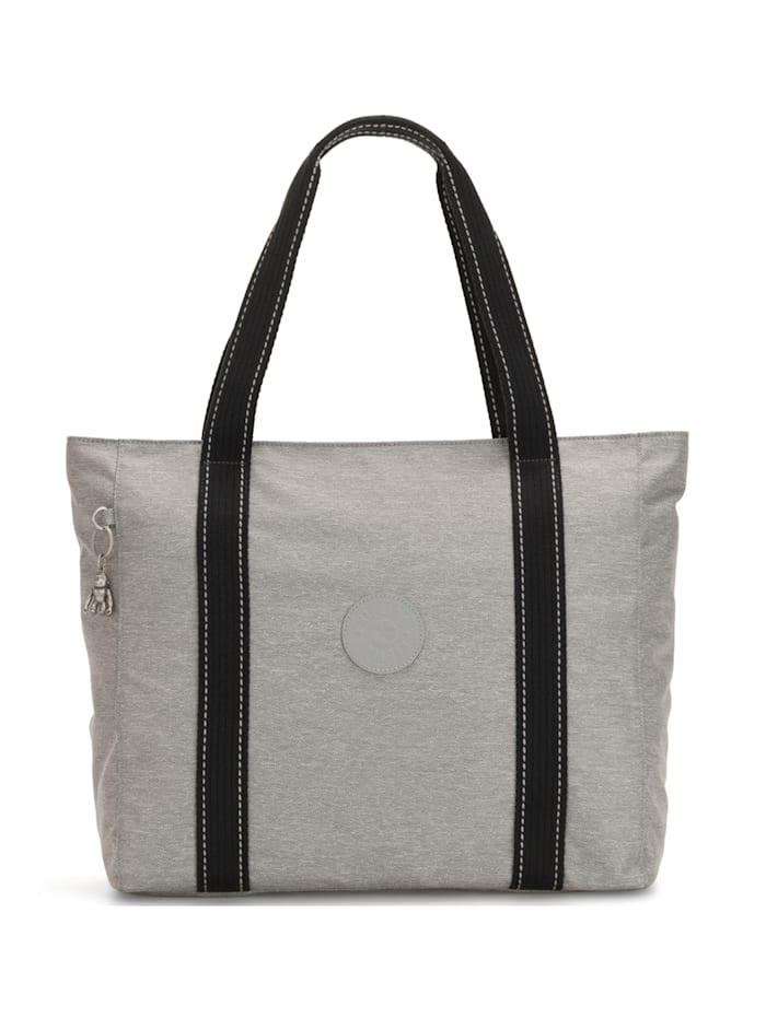 Kipling Peppery Asseni Shopper Tasche 49 cm, chalk grey