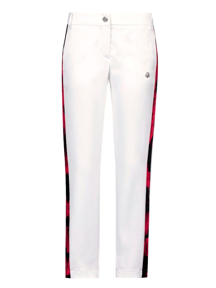 SPORTALM Hose in sportlicher Form, Weiß