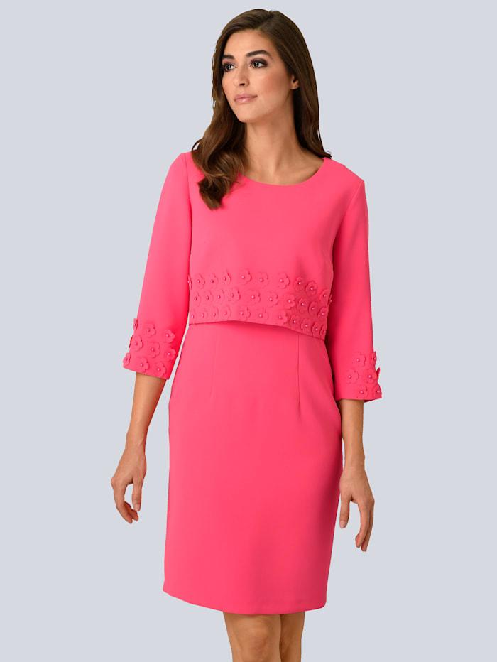 Kleid mit edler Kurz-Jacke im Set