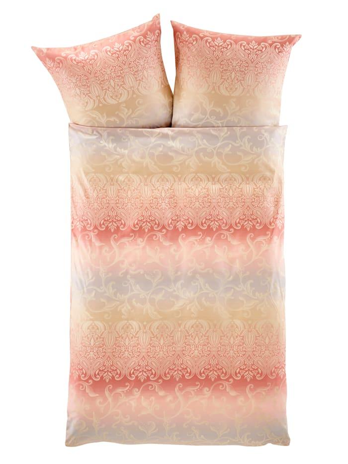 Curt Bauer Damaskové ložní prádlo Sabah, růžová