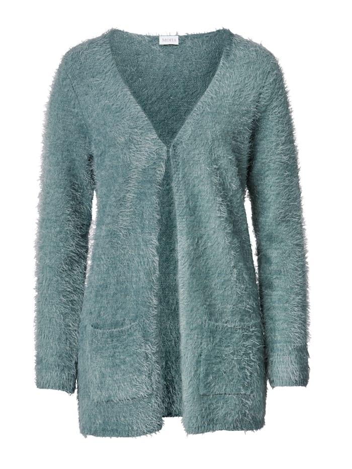 Cardigan in a soft, elegant yarn