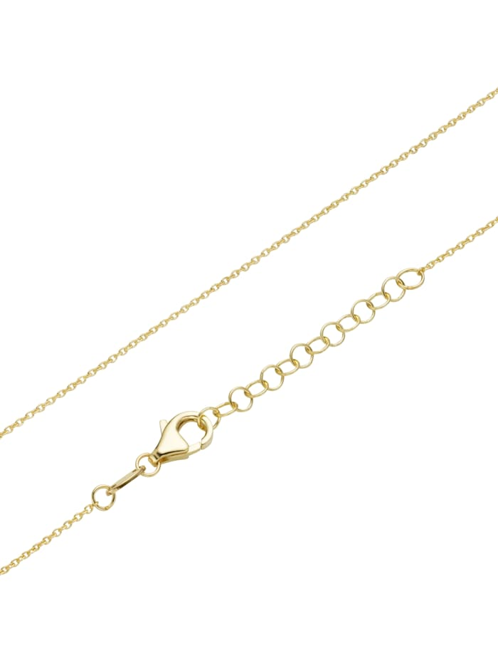 Collier mit Behang, Gold 375