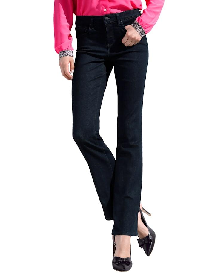 NYDJ Jeans Bootcut model met uitlopende pijpen, Donkerblauw