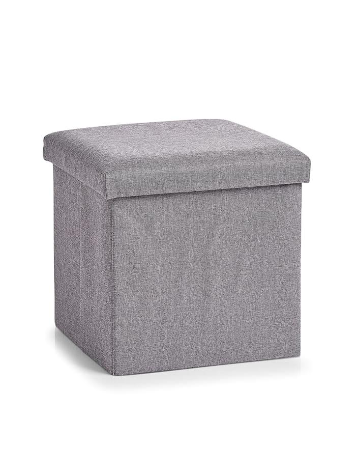 HTI-Living Sitzbox mit Stauraum, Grau