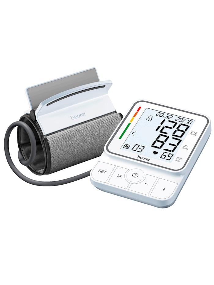 Beurer EasyClip-blodtrykksmåler til overarmen BM 51 - innovativ, Hvit