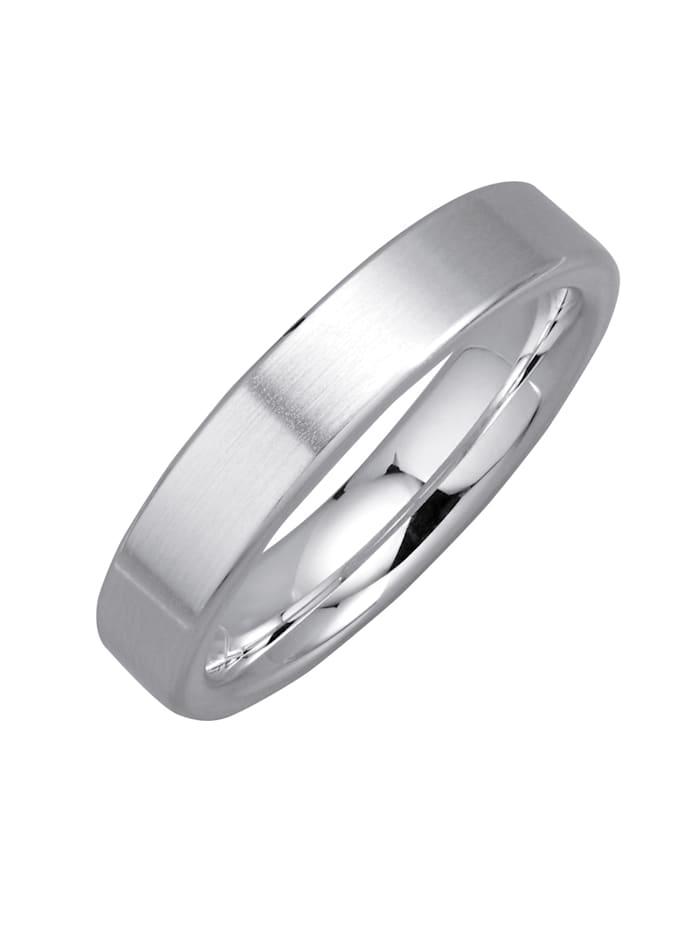 Harmony Trouwring van echt zilver, Zilverkleur