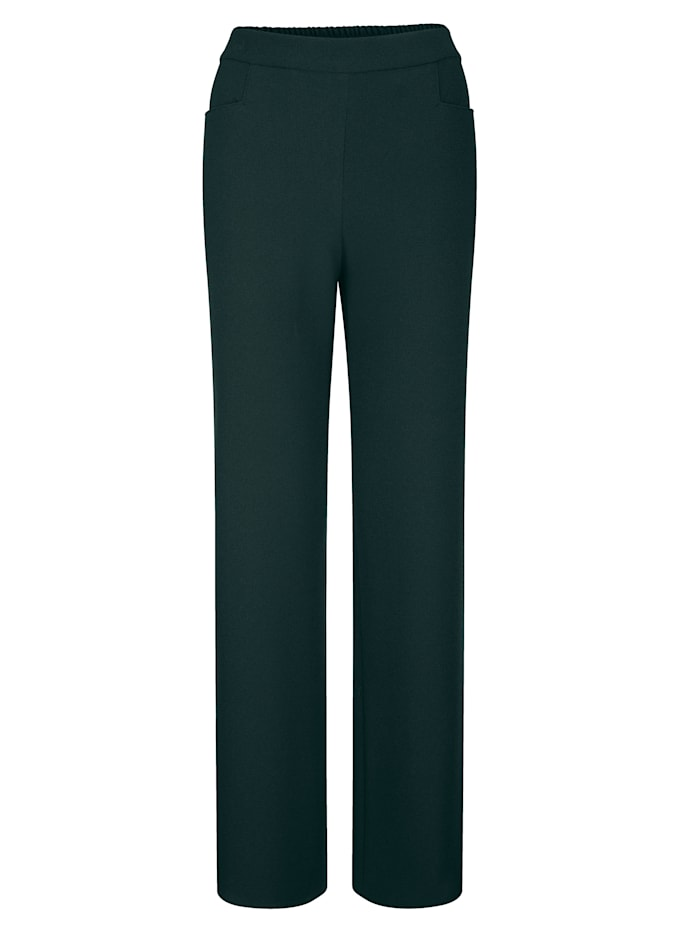 Trousers with a wide leg