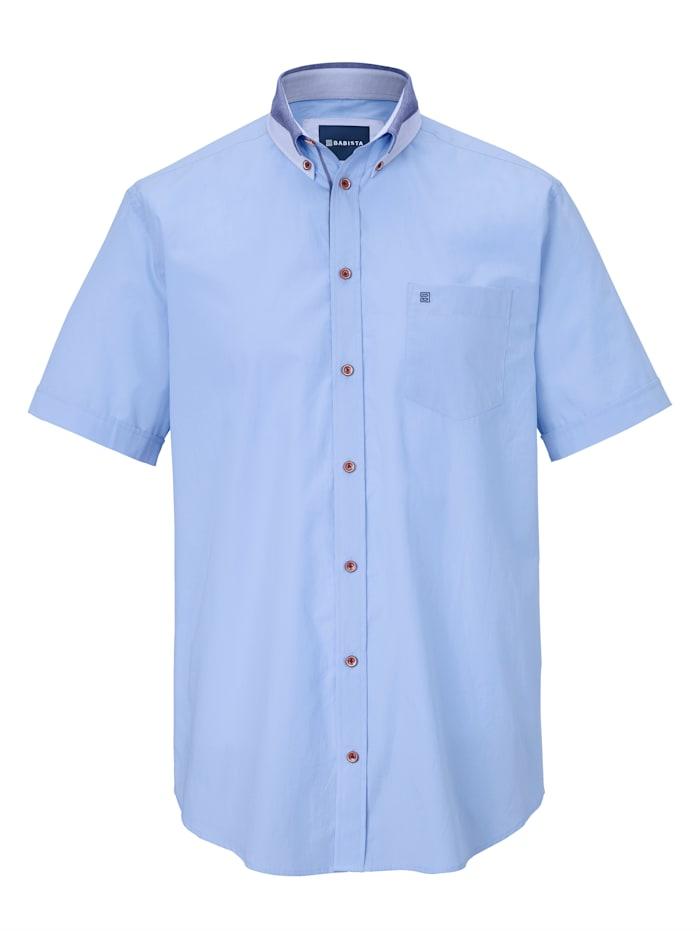 Hemd mit zweifarbigem Kragen