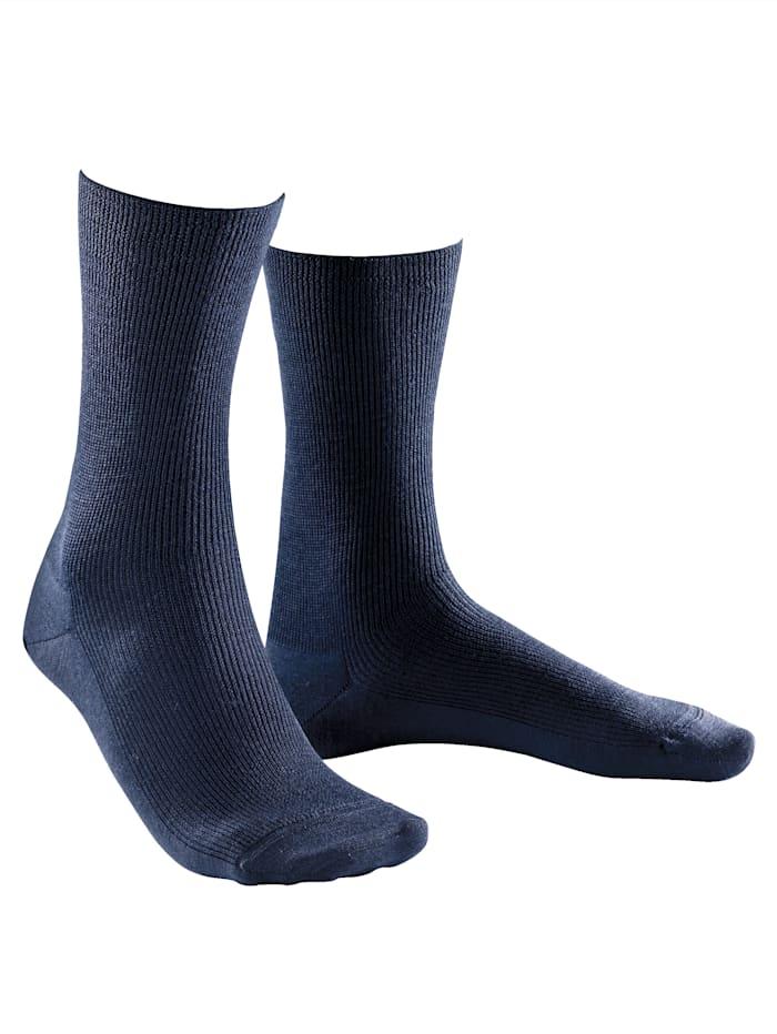 Weissbach Socken »Elite extra« Made in Germany, Marineblau