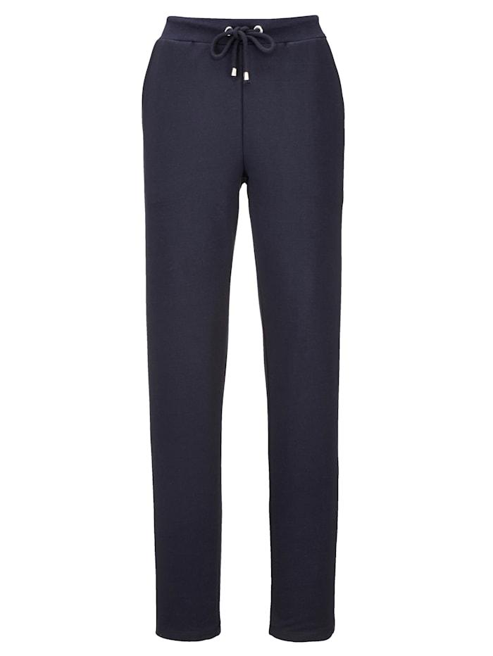 Blue Moon Leisure trousers, Navy/Bordeaux/Ivory